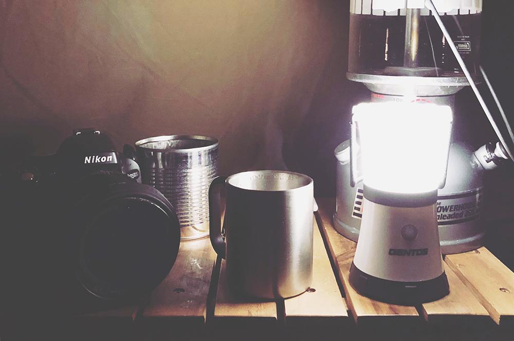 外遊び生活向上キャンプブログ キャンプで映えるウッドテーブルの画像