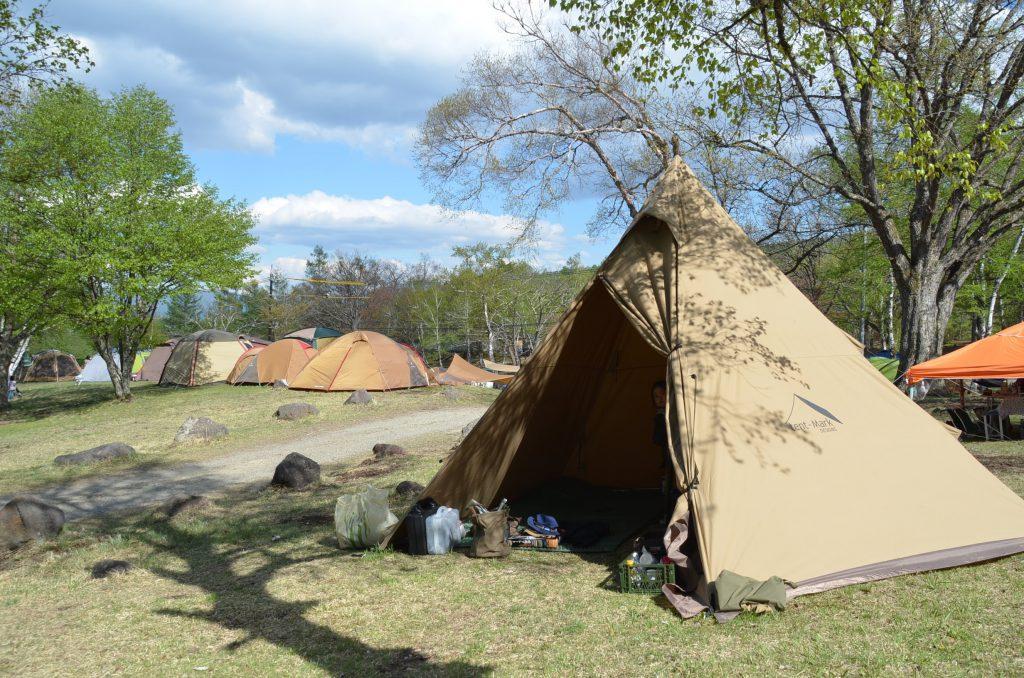 外遊び生活向上キャンプブログ 駒出池キャンプ場の画像