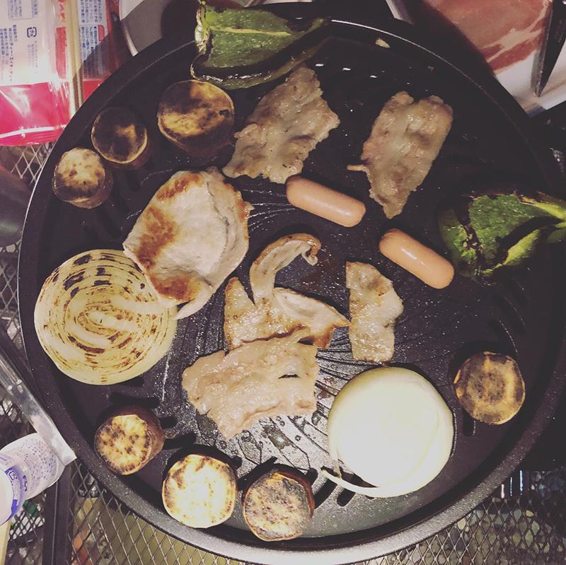 外遊び生活向上キャンプブログ イワタニ タフ丸 焼肉プレートの画像004