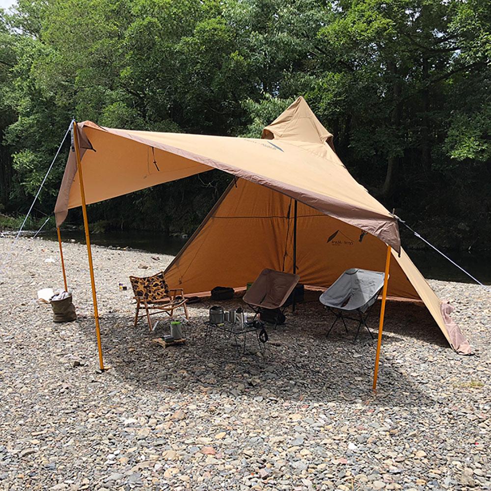 外遊び生活向上キャンプブログ サーカスTCアレンジの画像