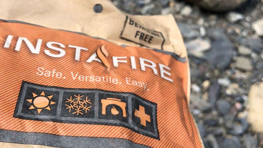 INSTAFIRE おしゃれな着火剤で簡単着火