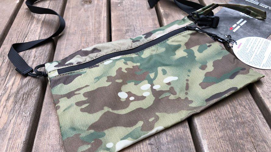 外遊び生活向上キャンプブログ TERG ポーチ マルチカラーカモの画像
