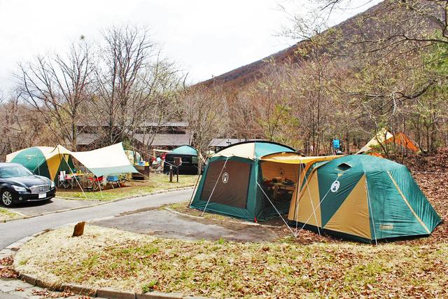 夏休みキャンプ 休暇村嬬恋鹿沢キャンプ場 予約済み