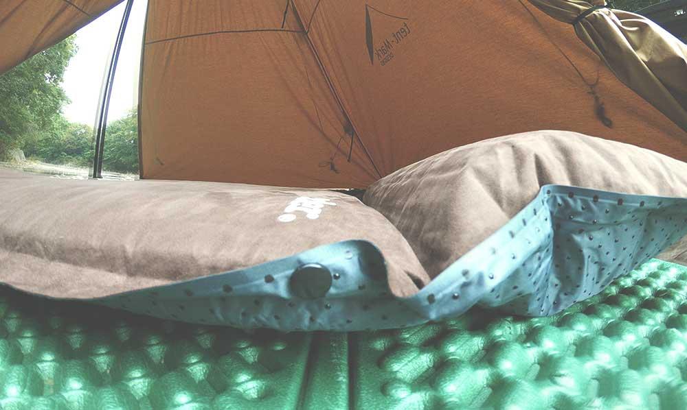 外遊び生活向上キャンプブログ サーカスTC ハイランダーインフレーターマット9cm画像024