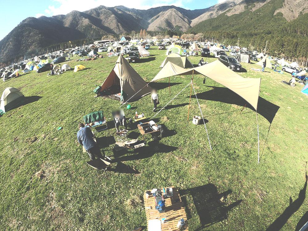 外遊び生活向上キャンプブログ ふもとっぱら キャンプ場画像10